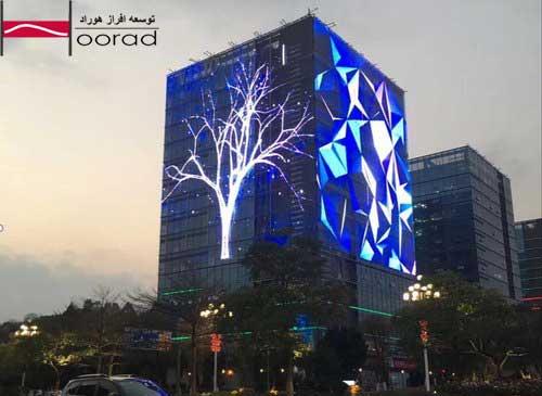 نورپردازی نما توسعه افراز هوراد
