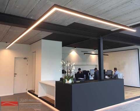 اصول اولیه نورپردازی فضای اداری
