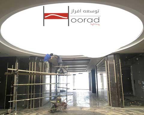 مراحل نصب سقف کشسان و تجهیزات مورد نیاز در فرایند نصب
