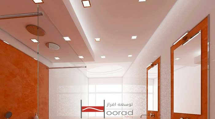 کاربرد سقف های کشسان در سرویس های بهداشتی