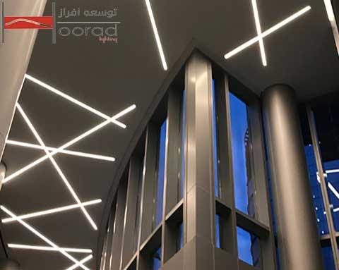 کاربرد چراغ لاین در نورپردازی داخلی