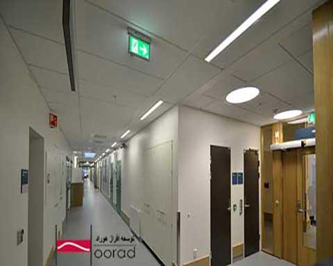 نورپردازی با استفاده از چراغ های خطی توکار
